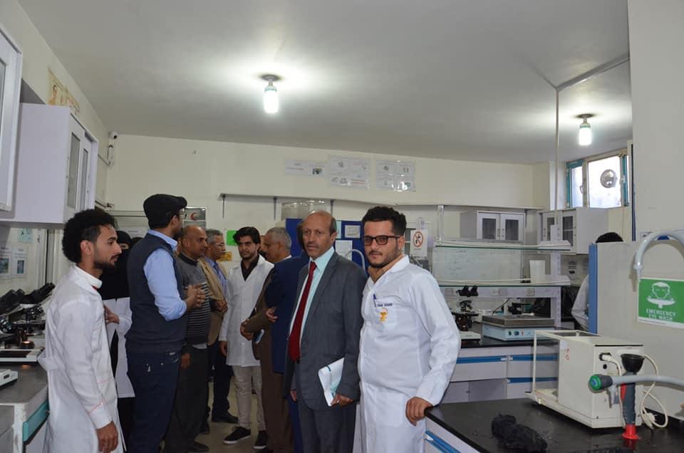 زيارة الأستاذ الدكتور/ غالب القانص وكيل وزارة التعليم العالي للشؤون التعليمية